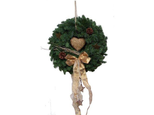 weihnachtlicher Türkranz